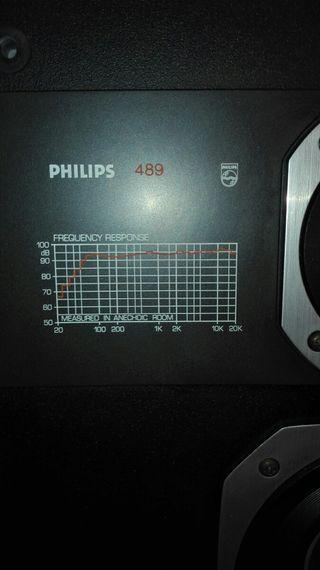 Altavoces Philips 489