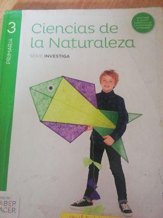 libro naturales 3 primaria saber hacer