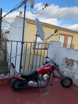 Mini moto chopped