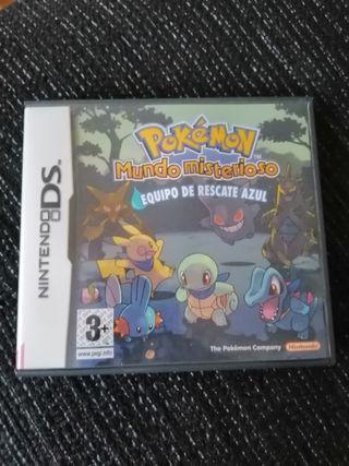 Caja Nintendo Ds Pokemon Mundo Misterioso