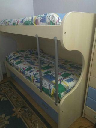 Venta literas de tres camas