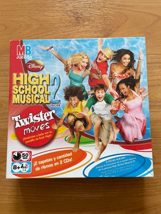 Juego de twister de High School Musical