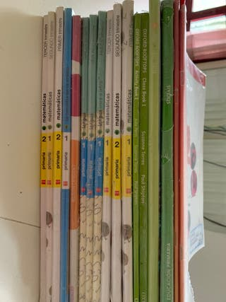 Regalo libros de texto de primero de primaria
