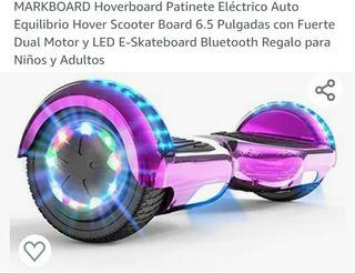 Hoverboard, con luces de colores y bluetooth