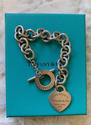 Pulsera plata Tiffany & Co original
