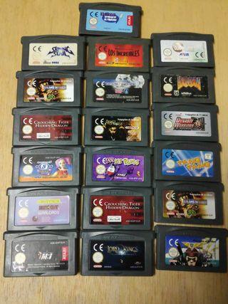 Juegos consola Nintendo Game Boy