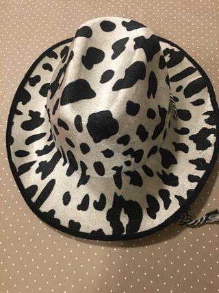 Sombrero cowboy, vaquero, vaca