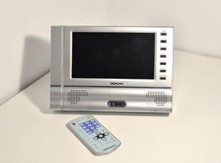 Reproductor DVD portátil Boman para coche