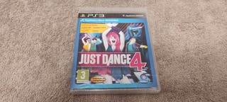 JUST DANCE 4 - NUEVO - PLAY STATION 3 - PS3 -
