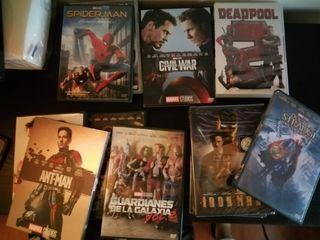 Pack DVD Marvel