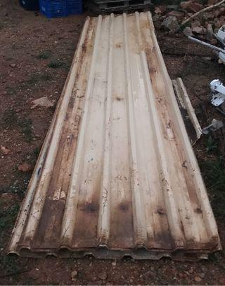 Chapa perfilada galvanizado 5 metros para techo