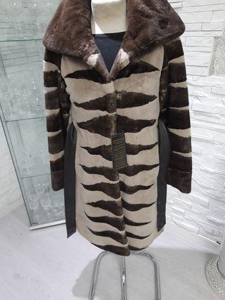 abrigo piel Rasado