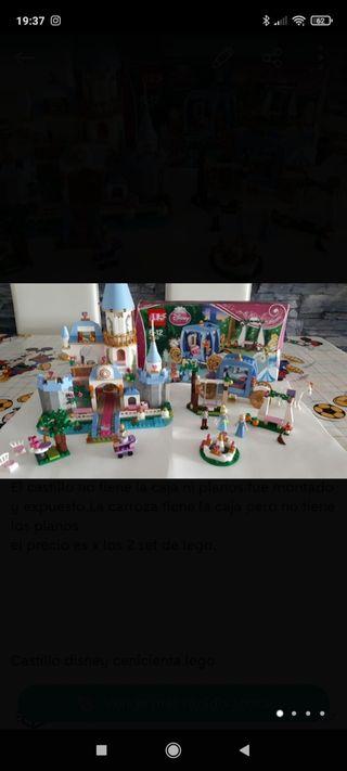 LEGO DISNEY CASTILLO Y CARROZA .