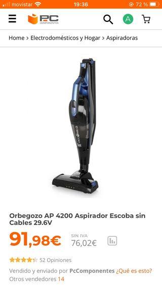 aspirador orbegozo ap 4200