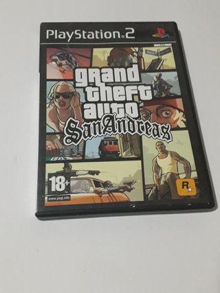 GTA San Andreas PS2