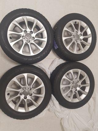Llantas Audi y neumáticos de reestreno