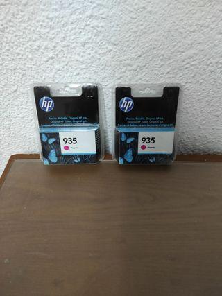Cartucho tinta impresora HP 935 rosa