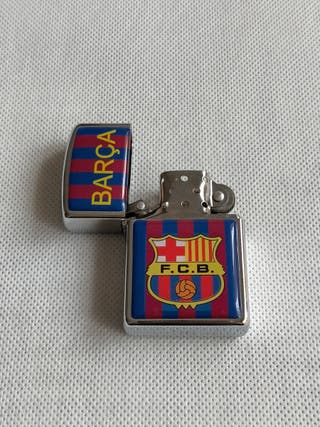 Mechero f.c Barcelona Barça a gasolina,(sin gasol