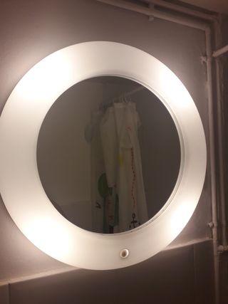 Espejo redondo de baño Ikea