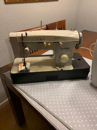 Máquina de coser sigma Zig Zag