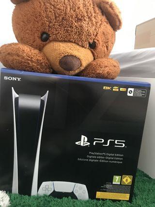 Consola PlayStation 5 Digital NUEVA