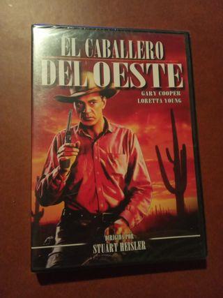 DVD pelicula El Caballero del oeste
