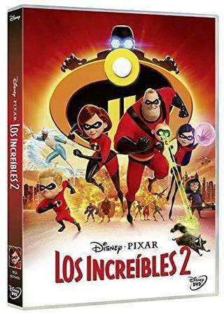 Los increíbles 2 de Pixar en formato DVD