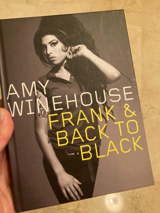 "Amy Winehouse ""Frank + Back to black"" Cd edición"