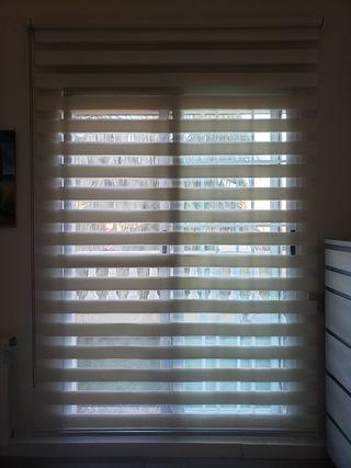 Estore cortina enrollable Sol y Sombra de diseño