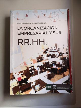 Libro Turismo UNED Comp. Organizativo y RR.HH.