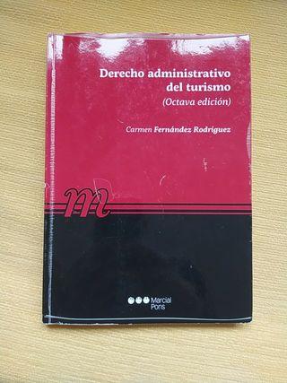 Libro de Derecho administrativo del turismo