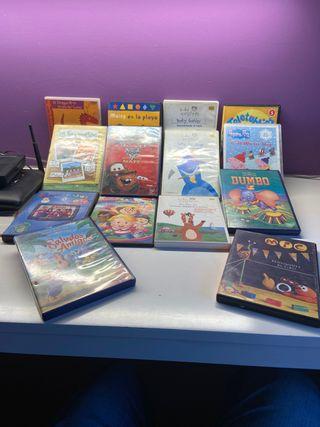 14 Dvd infantiles