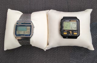 2 relojes vintage Casio Game GS-11 & GM-20