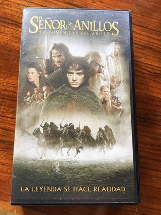 VHS El señor de los anillos