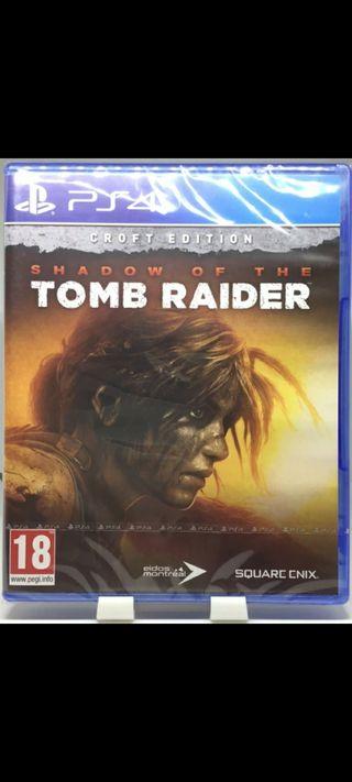 TOMB RAIDER SHADOW EDITION PS4