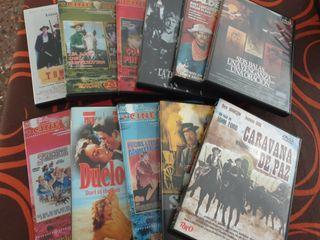PELICULAS DEL OESTE (VAQUEROS) - 14 pelicula dvd's