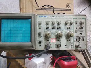 osciloscopio tektronix 2225 buen estado