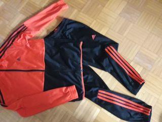 chándal + chaqueta chándal. Adidas