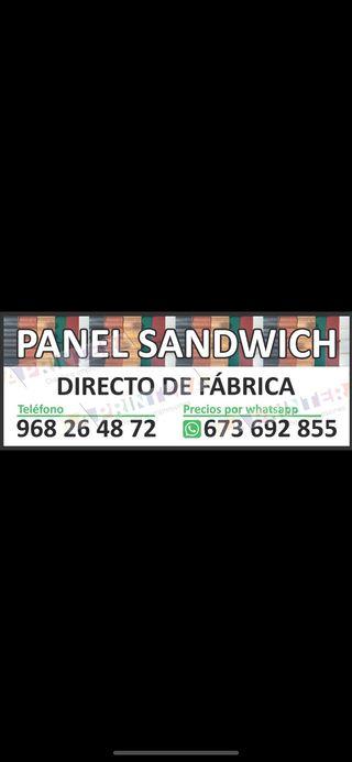 PANEL SANDWICH EN MURCIA