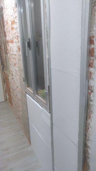 aislamiento térmico de pared interior