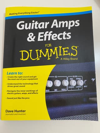 Guitar amps and effects - Libro de guitarra