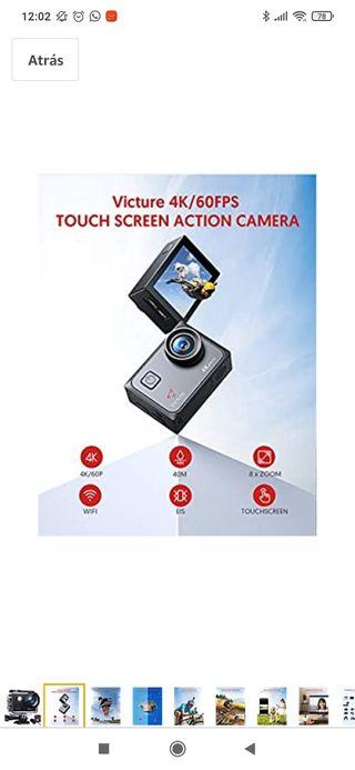 cámara deportiva victure AC900 ultra HD 4K-Wifi