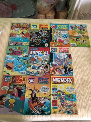 Comics de Mortadelo y Zipi Zape
