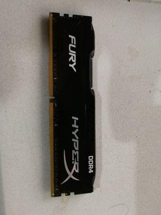HiperX Fury DDR4 4x8GB 2166 Mhz HX421C14FBK2/16