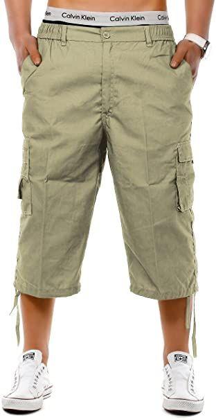 Pantalones cargo de hombres Bermudas pantalon