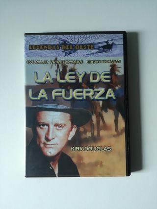 La ley de la fuerza - película DVD