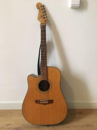 Fender San Miguel guitarra acústica zurda