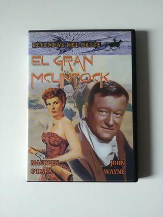 El gran Mclintock película DVD