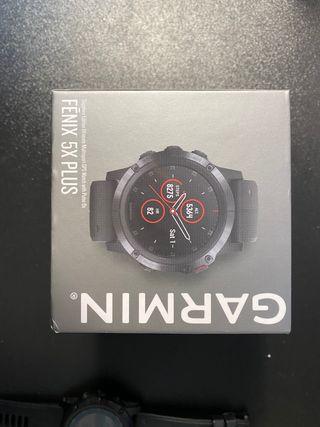 Reloj Garmin Fénix 5x plus zafiro