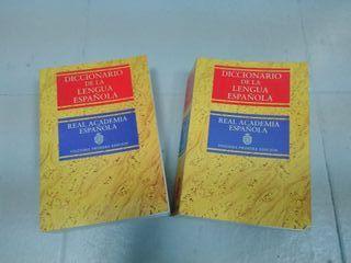 Diccionario de la lengua Española. RAE. 2 tomos.